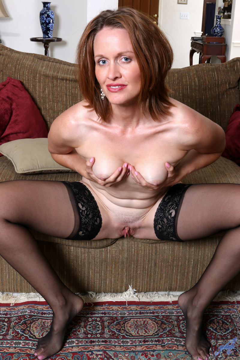 ... mature women on the net featuring Anilos Camille Johnson hot cougars
