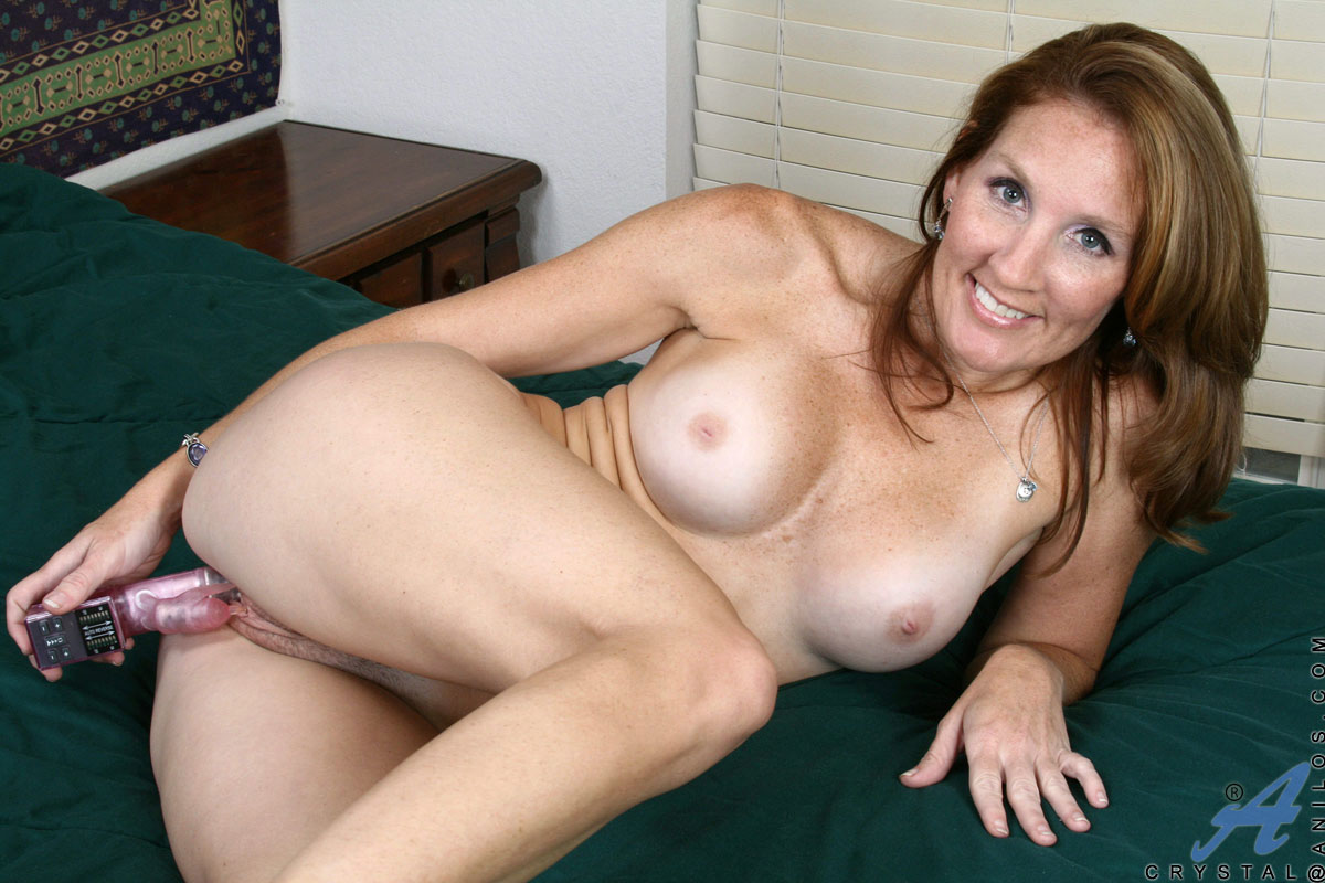 Crystal is horny and wants to fuck you 7