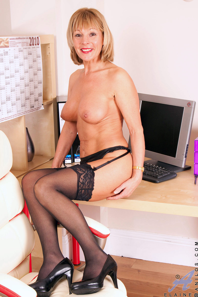Matures In Black Stockings