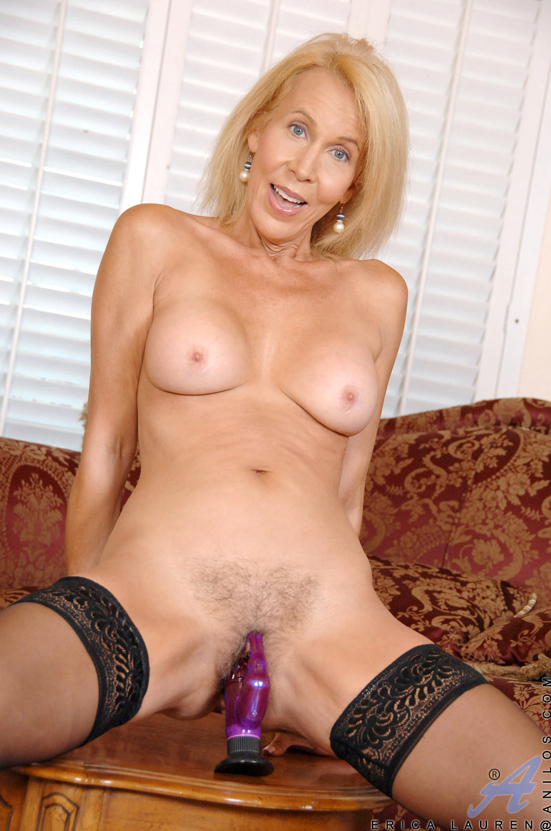 Hairy mature erica lauren