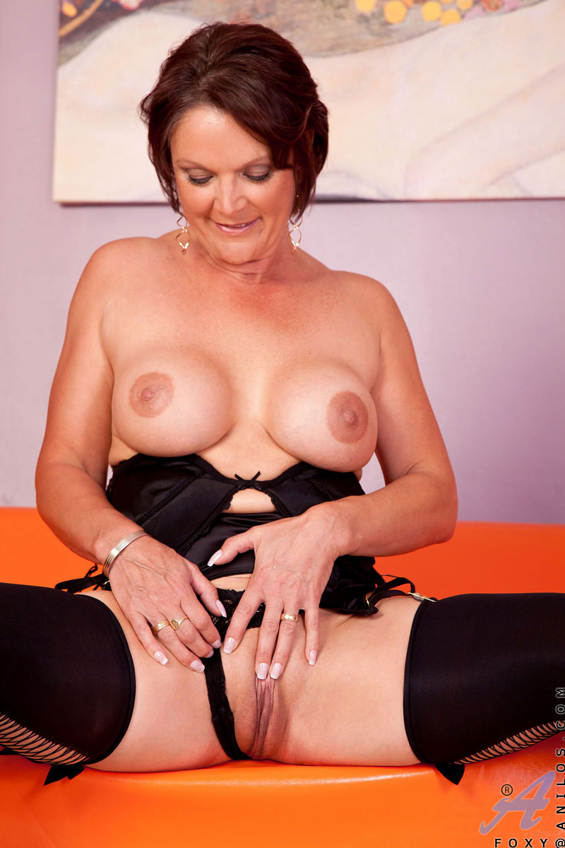 Sexy mature like black