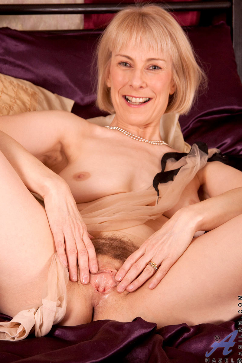 Hot blonde milf solo that
