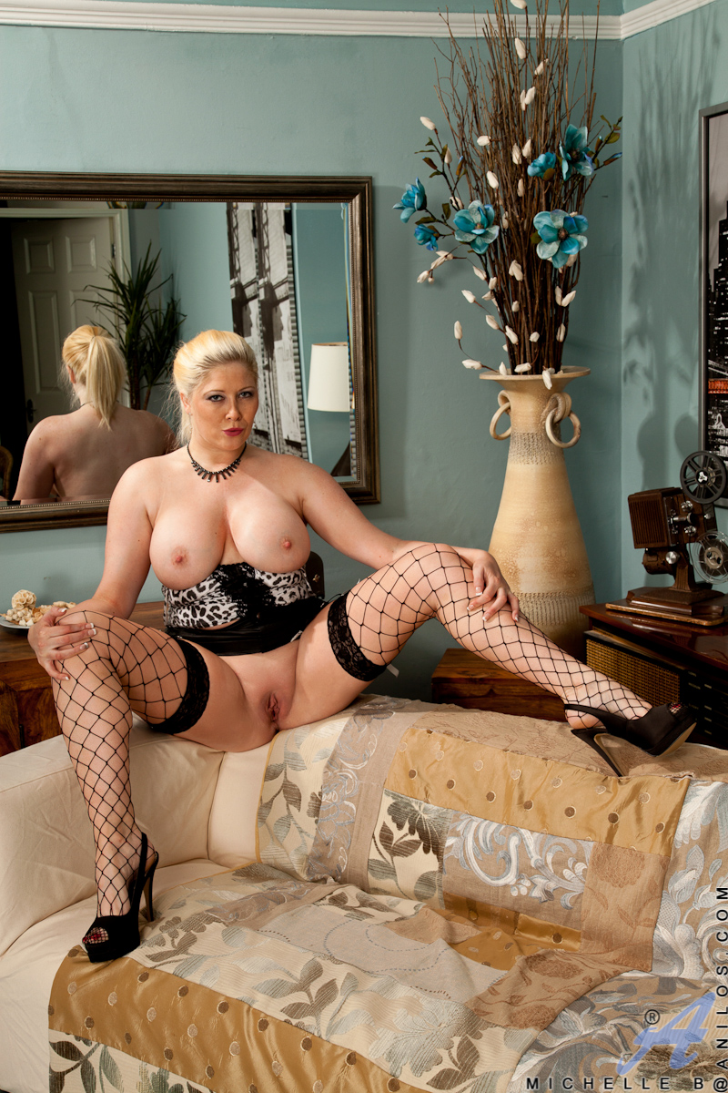Mother in pantyhose join