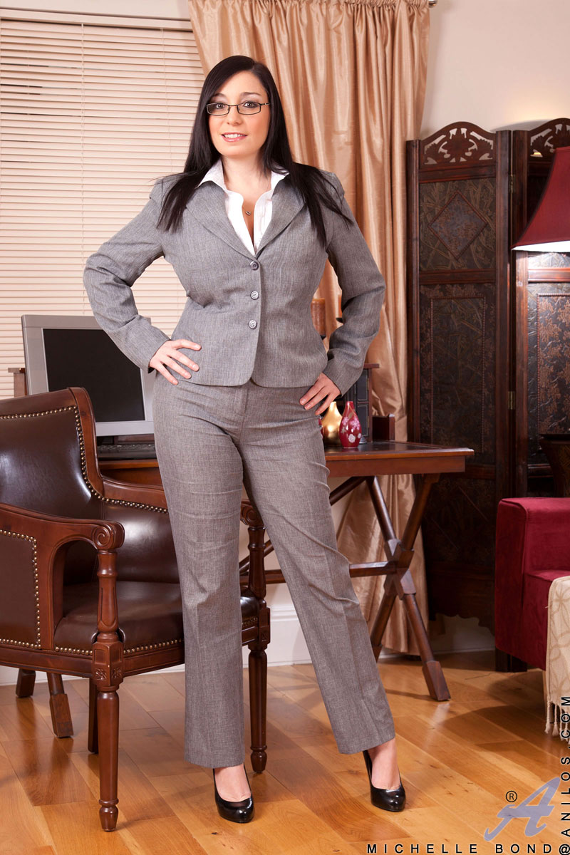 from Mayson nude girls in business suit