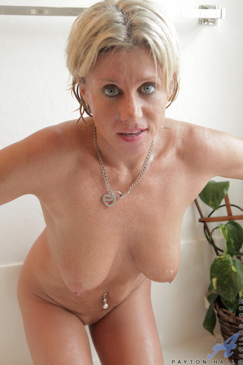 Mature blonde cougar think, that