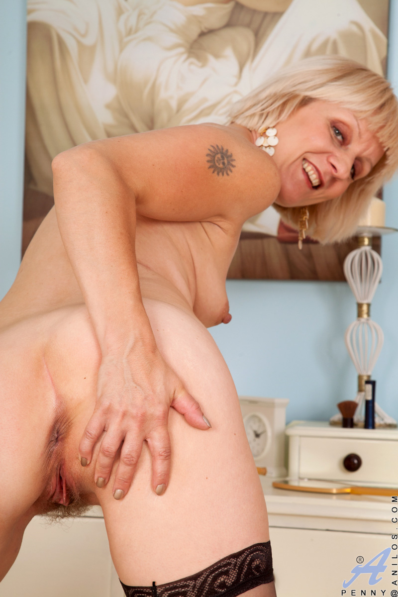 Mature lady takes care of a young dick 6