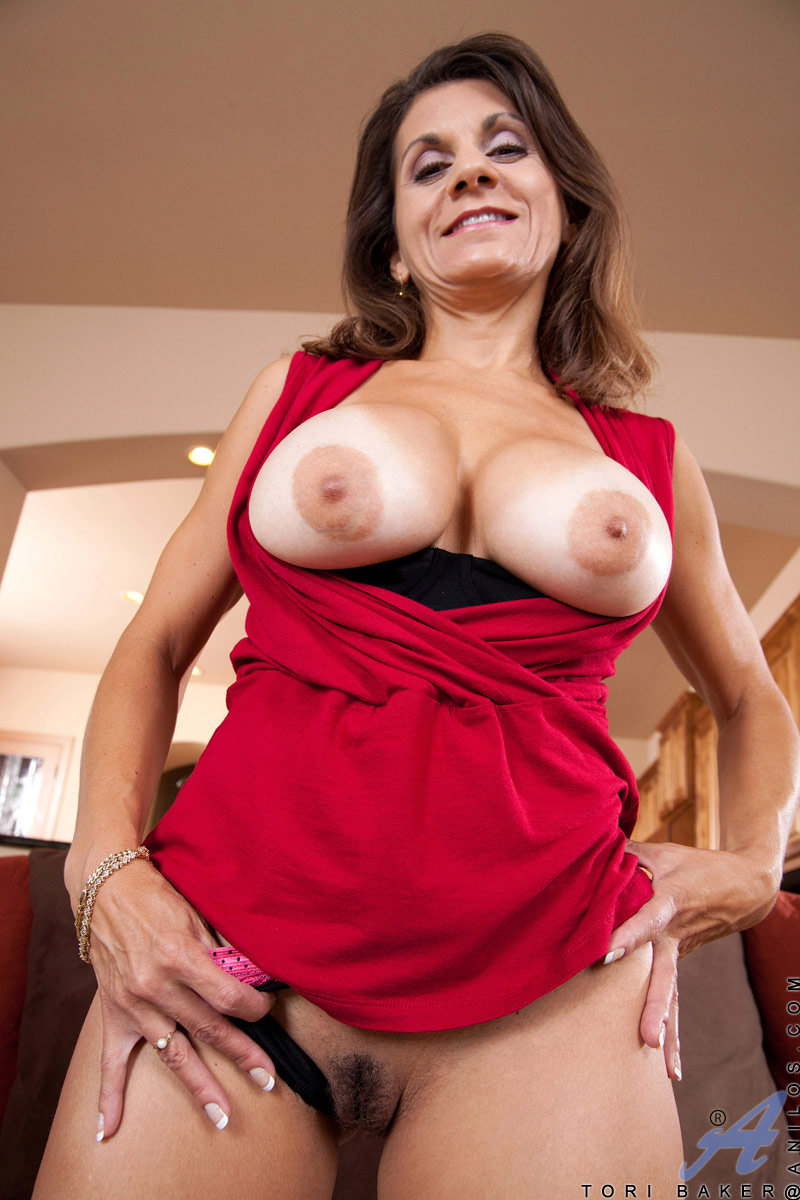 Big boob lady legged long mature