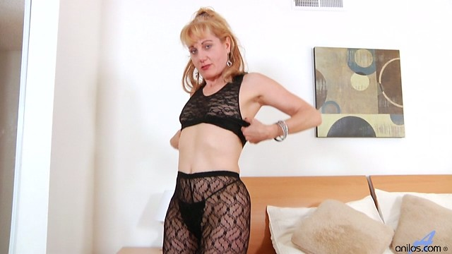 Anilos Angella Faith has the ultimate orgasm with her black vibrator