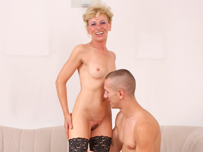 Petite milf Susan Lee gets team fucked by a young stud
