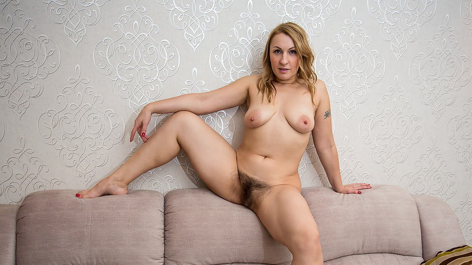Woman hairy sexy mature