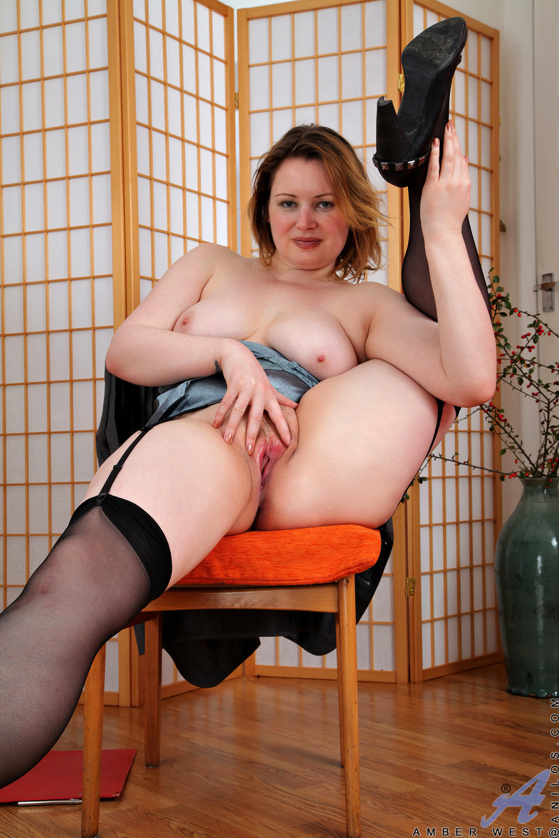 Anilos.com - Amber West: Office Play