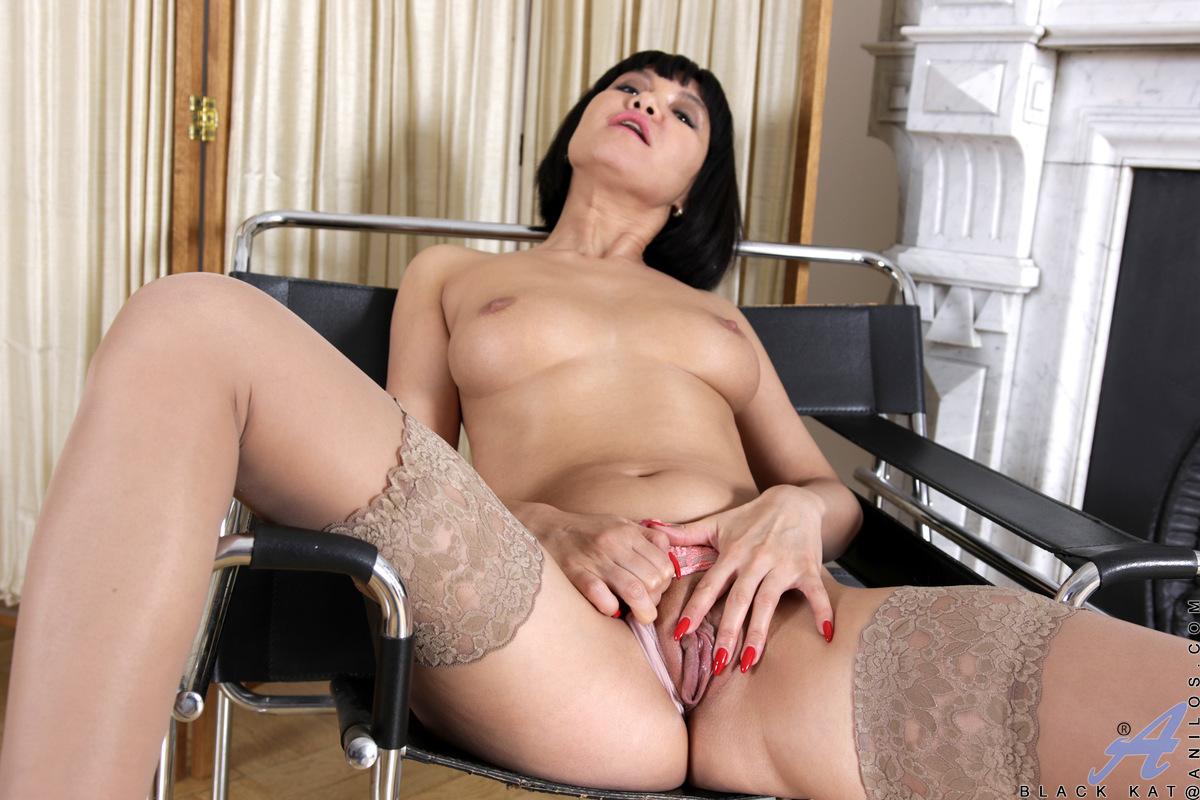 Anilos.com - Black Kat: Horny Housewife