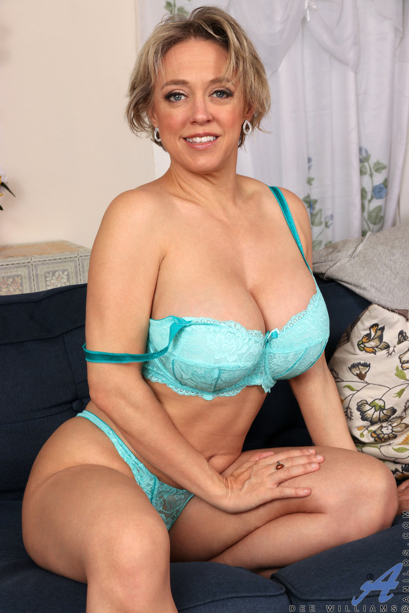 We love Dee Williams, a horny mommy who enjoys a good time. She enjoys playing with the heft of breasts and the firmness of her ass. As her clothes come off to reveal silky lingerie, you'll admire her incredible proportions that are made for fucking, espe