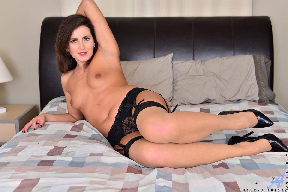 Beautiful nude women in stockings