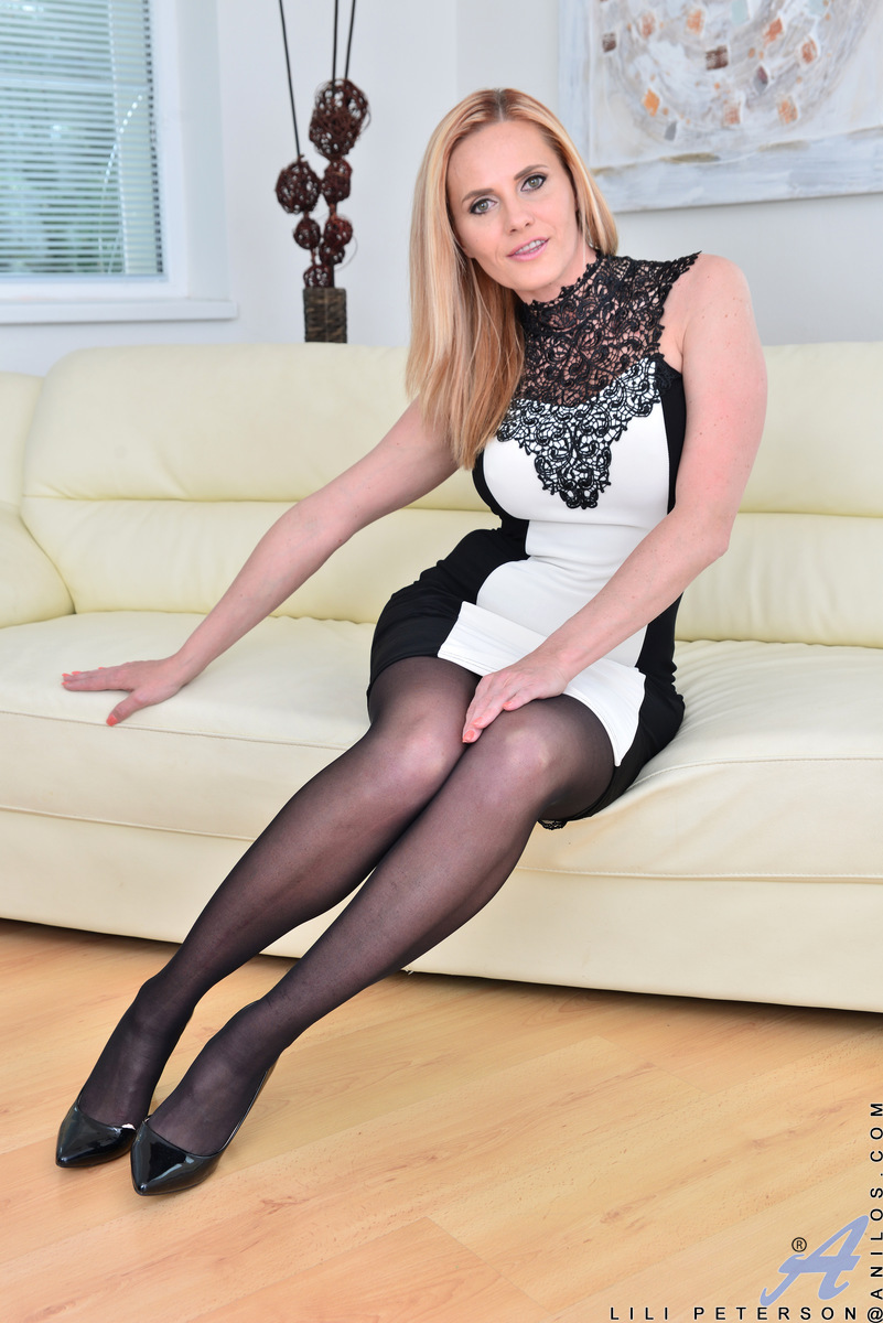 stockings and heels pics