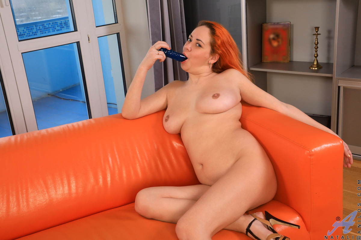 When luscious mom Natali has needs to fulfill and doesn't have a man to satisfy her, she grabs a toy and takes matters into her own hands. She could play with her giant jugs forever, but the promise of her greedy fuck hole cumming around a dildo is too mu