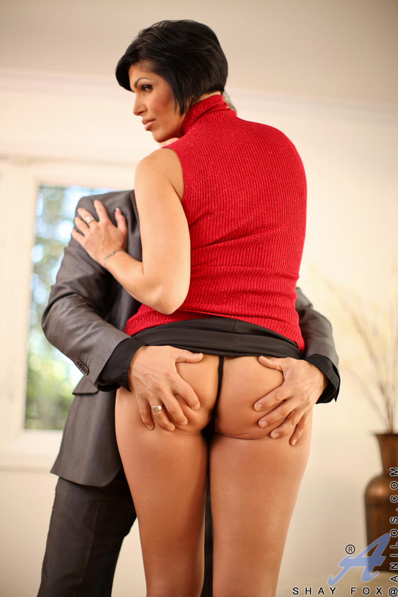 Anal Porn Mature Boss anal with lady in the blue top very cool porn