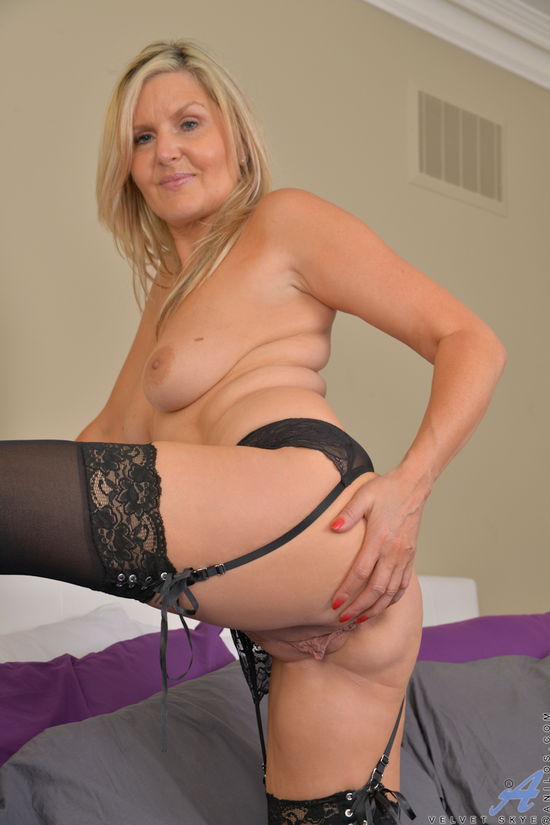 Puffy milf breasts areolas