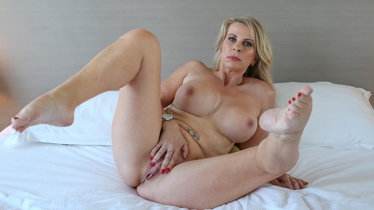 Hot busty cougar